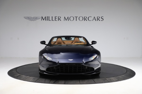 New 2021 Aston Martin Vantage Roadster Convertible for sale $205,686 at Maserati of Greenwich in Greenwich CT 06830 11