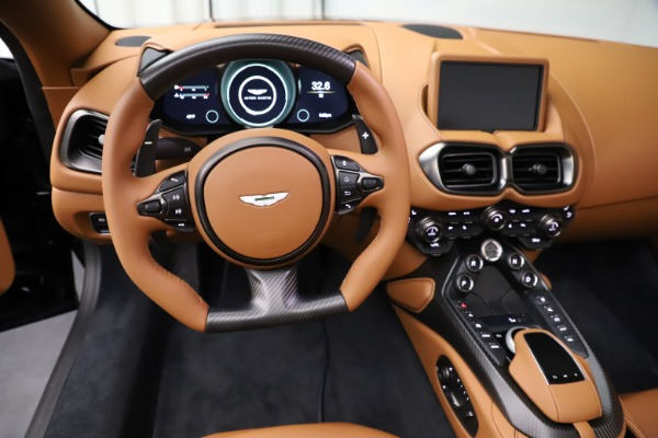 New 2021 Aston Martin Vantage Roadster Convertible for sale $205,686 at Maserati of Greenwich in Greenwich CT 06830 17