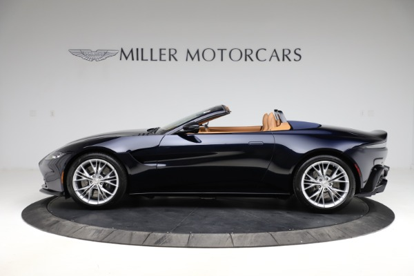 New 2021 Aston Martin Vantage Roadster Convertible for sale $205,686 at Maserati of Greenwich in Greenwich CT 06830 2