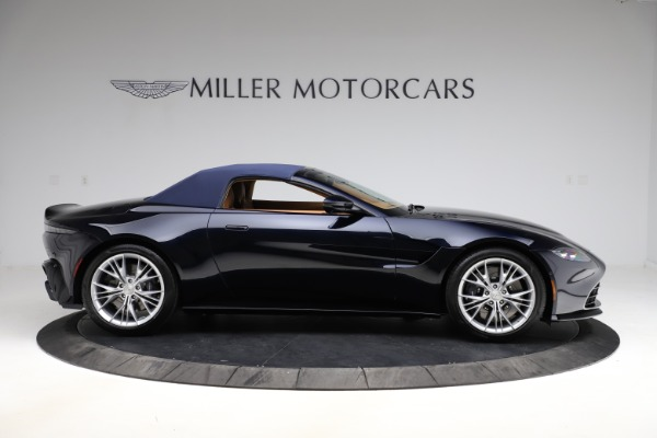 New 2021 Aston Martin Vantage Roadster Convertible for sale $205,686 at Maserati of Greenwich in Greenwich CT 06830 22