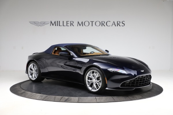 New 2021 Aston Martin Vantage Roadster Convertible for sale $205,686 at Maserati of Greenwich in Greenwich CT 06830 23