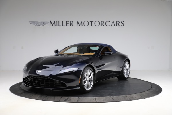 New 2021 Aston Martin Vantage Roadster Convertible for sale $205,686 at Maserati of Greenwich in Greenwich CT 06830 24