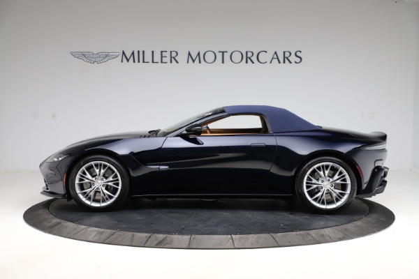New 2021 Aston Martin Vantage Roadster Convertible for sale $205,686 at Maserati of Greenwich in Greenwich CT 06830 25