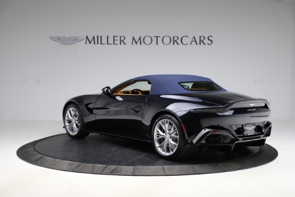 New 2021 Aston Martin Vantage Roadster Convertible for sale $205,686 at Maserati of Greenwich in Greenwich CT 06830 26