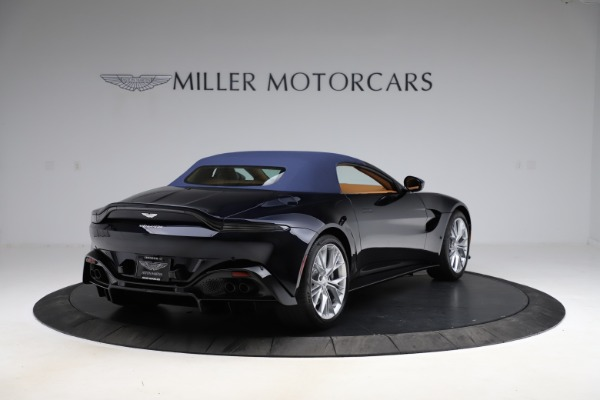 New 2021 Aston Martin Vantage Roadster Convertible for sale $205,686 at Maserati of Greenwich in Greenwich CT 06830 27