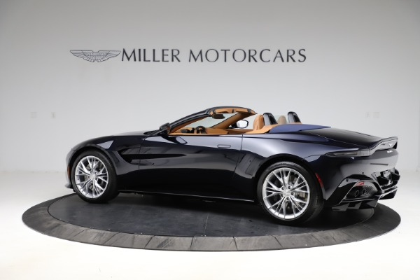 New 2021 Aston Martin Vantage Roadster Convertible for sale $205,686 at Maserati of Greenwich in Greenwich CT 06830 3