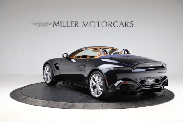 New 2021 Aston Martin Vantage Roadster Convertible for sale $205,686 at Maserati of Greenwich in Greenwich CT 06830 4