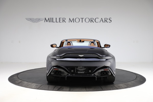 New 2021 Aston Martin Vantage Roadster Convertible for sale $205,686 at Maserati of Greenwich in Greenwich CT 06830 5