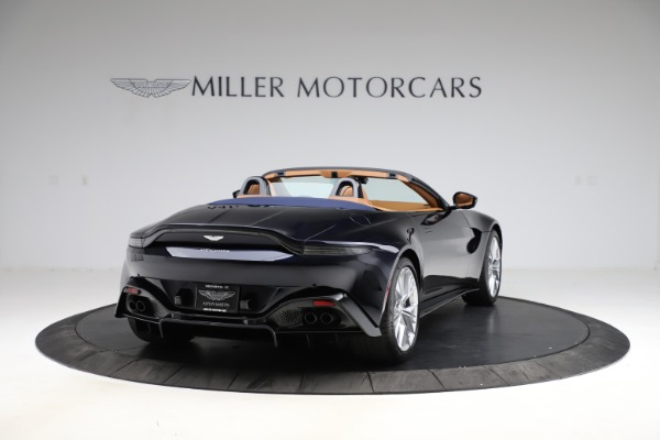 New 2021 Aston Martin Vantage Roadster Convertible for sale $205,686 at Maserati of Greenwich in Greenwich CT 06830 6