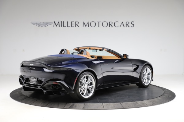 New 2021 Aston Martin Vantage Roadster Convertible for sale $205,686 at Maserati of Greenwich in Greenwich CT 06830 7