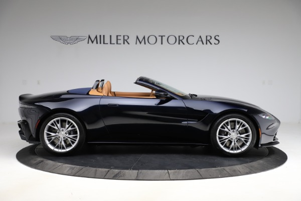 New 2021 Aston Martin Vantage Roadster Convertible for sale $205,686 at Maserati of Greenwich in Greenwich CT 06830 8