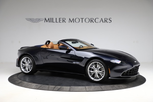 New 2021 Aston Martin Vantage Roadster Convertible for sale $205,686 at Maserati of Greenwich in Greenwich CT 06830 9