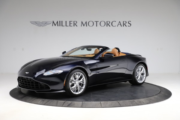 New 2021 Aston Martin Vantage Roadster Convertible for sale $205,686 at Maserati of Greenwich in Greenwich CT 06830 1