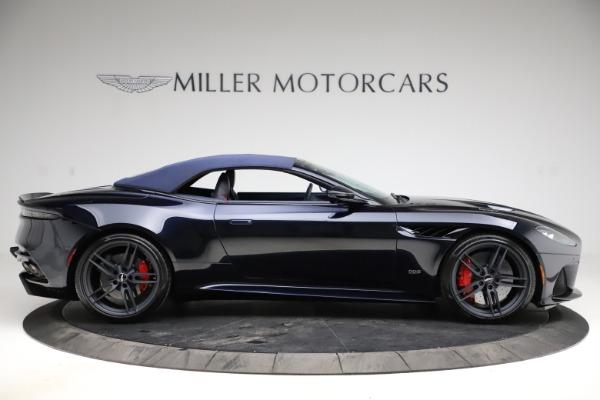 New 2021 Aston Martin DBS Superleggera Volante Convertible for sale $402,286 at Maserati of Greenwich in Greenwich CT 06830 12