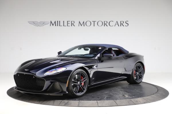 New 2021 Aston Martin DBS Superleggera Volante Convertible for sale $402,286 at Maserati of Greenwich in Greenwich CT 06830 16
