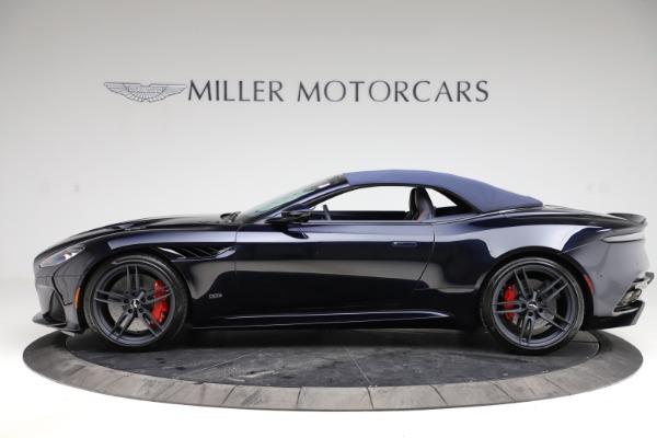 New 2021 Aston Martin DBS Superleggera Volante Convertible for sale $402,286 at Maserati of Greenwich in Greenwich CT 06830 17