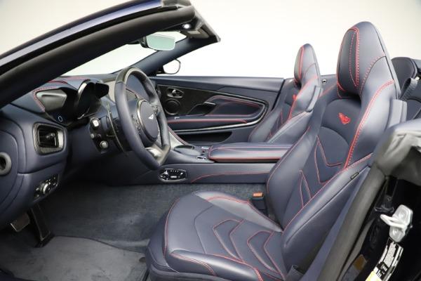 New 2021 Aston Martin DBS Superleggera Volante for sale $402,286 at Maserati of Greenwich in Greenwich CT 06830 19