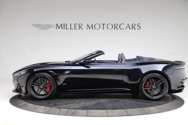 New 2021 Aston Martin DBS Superleggera Volante Convertible for sale $402,286 at Maserati of Greenwich in Greenwich CT 06830 2