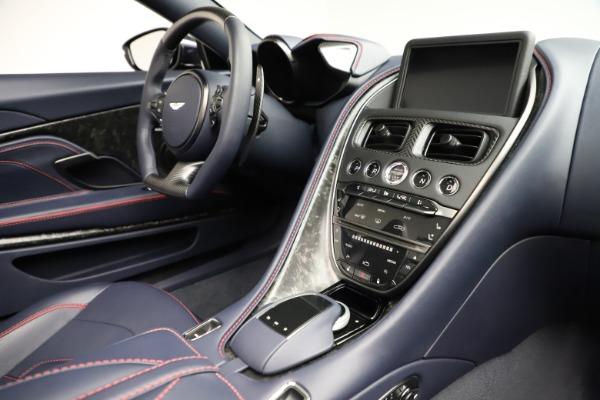 New 2021 Aston Martin DBS Superleggera Volante for sale $402,286 at Maserati of Greenwich in Greenwich CT 06830 24