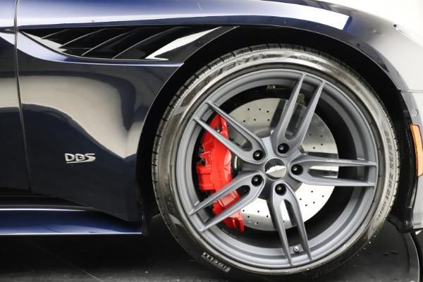 New 2021 Aston Martin DBS Superleggera Volante Convertible for sale $402,286 at Maserati of Greenwich in Greenwich CT 06830 27