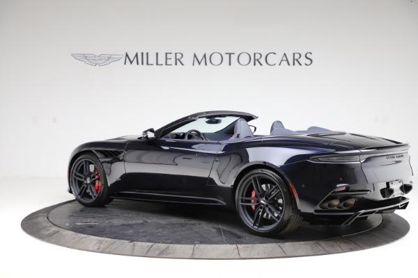 New 2021 Aston Martin DBS Superleggera Volante Convertible for sale $402,286 at Maserati of Greenwich in Greenwich CT 06830 3