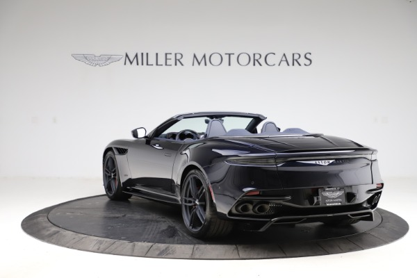 New 2021 Aston Martin DBS Superleggera Volante Convertible for sale $402,286 at Maserati of Greenwich in Greenwich CT 06830 4