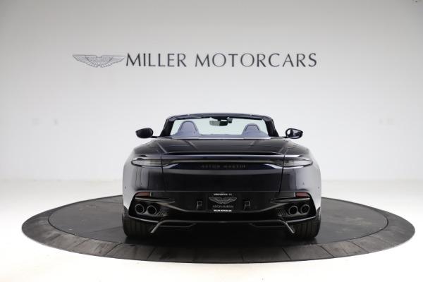 New 2021 Aston Martin DBS Superleggera Volante for sale $402,286 at Maserati of Greenwich in Greenwich CT 06830 5