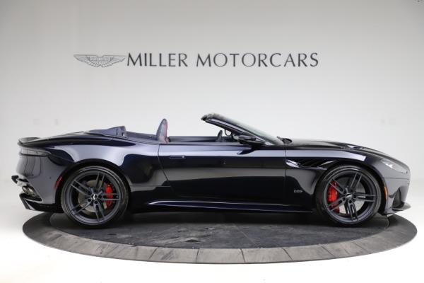New 2021 Aston Martin DBS Superleggera Volante Convertible for sale $402,286 at Maserati of Greenwich in Greenwich CT 06830 8