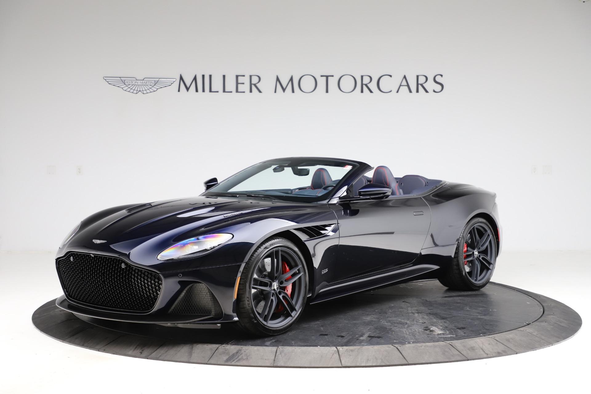 New 2021 Aston Martin DBS Superleggera Volante Convertible for sale $402,286 at Maserati of Greenwich in Greenwich CT 06830 1