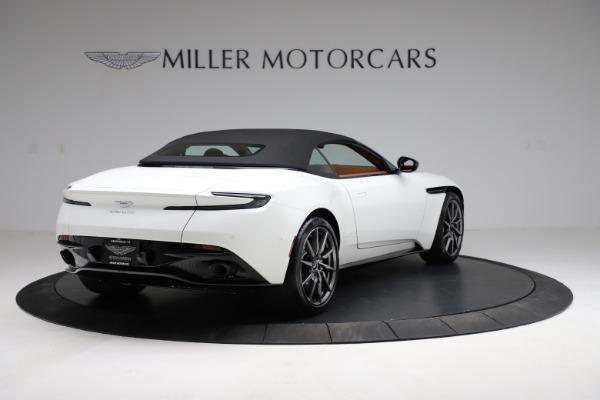 New 2021 Aston Martin DB11 Volante for sale $269,486 at Maserati of Greenwich in Greenwich CT 06830 16