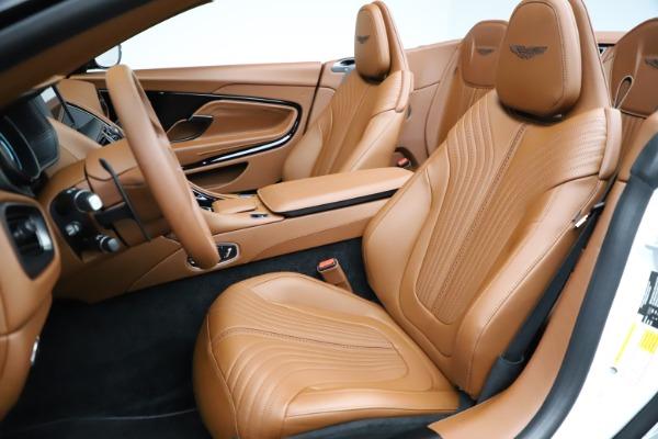 New 2021 Aston Martin DB11 Volante for sale $269,486 at Maserati of Greenwich in Greenwich CT 06830 21