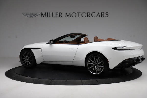 New 2021 Aston Martin DB11 Volante for sale $269,486 at Maserati of Greenwich in Greenwich CT 06830 3