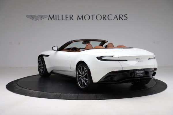 New 2021 Aston Martin DB11 Volante for sale $269,486 at Maserati of Greenwich in Greenwich CT 06830 4