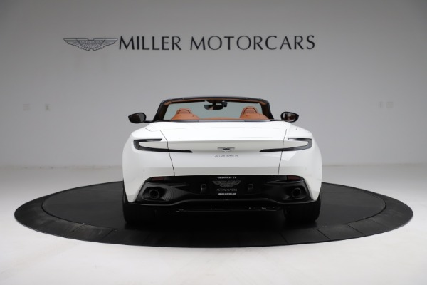 New 2021 Aston Martin DB11 Volante for sale $269,486 at Maserati of Greenwich in Greenwich CT 06830 5