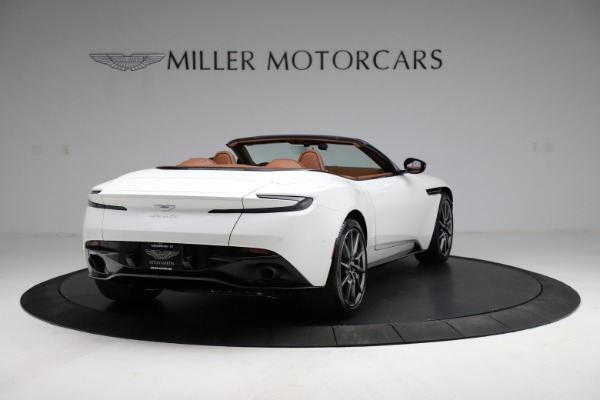 New 2021 Aston Martin DB11 Volante for sale $269,486 at Maserati of Greenwich in Greenwich CT 06830 6