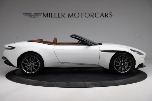 New 2021 Aston Martin DB11 Volante for sale $269,486 at Maserati of Greenwich in Greenwich CT 06830 8