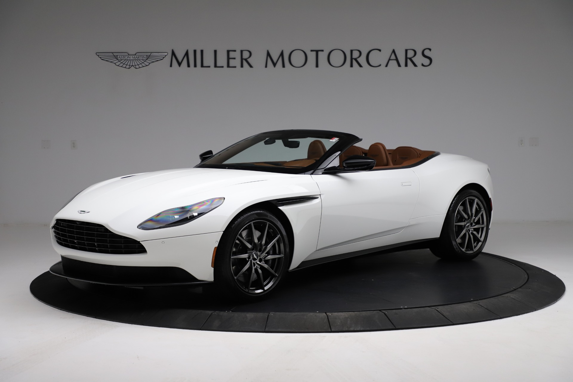 New 2021 Aston Martin DB11 Volante Convertible for sale $269,486 at Maserati of Greenwich in Greenwich CT 06830 1
