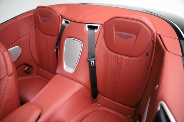 New 2021 Aston Martin DB11 Volante Convertible for sale $261,486 at Maserati of Greenwich in Greenwich CT 06830 19