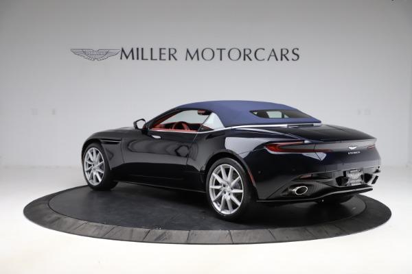 New 2021 Aston Martin DB11 Volante Convertible for sale $261,486 at Maserati of Greenwich in Greenwich CT 06830 27