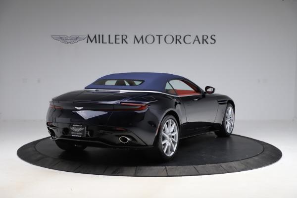 New 2021 Aston Martin DB11 Volante Convertible for sale $261,486 at Maserati of Greenwich in Greenwich CT 06830 28