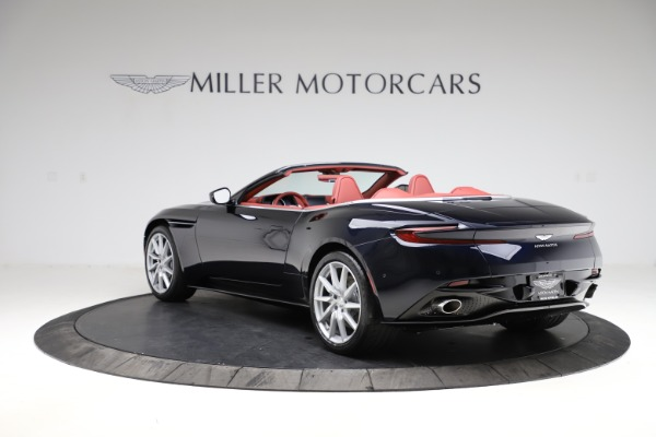 New 2021 Aston Martin DB11 Volante Convertible for sale $261,486 at Maserati of Greenwich in Greenwich CT 06830 4