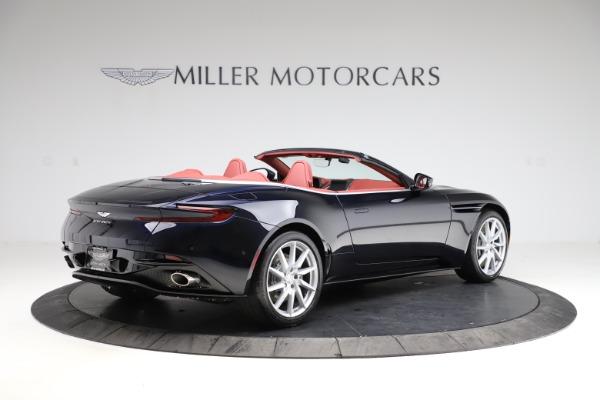 New 2021 Aston Martin DB11 Volante Convertible for sale $261,486 at Maserati of Greenwich in Greenwich CT 06830 7