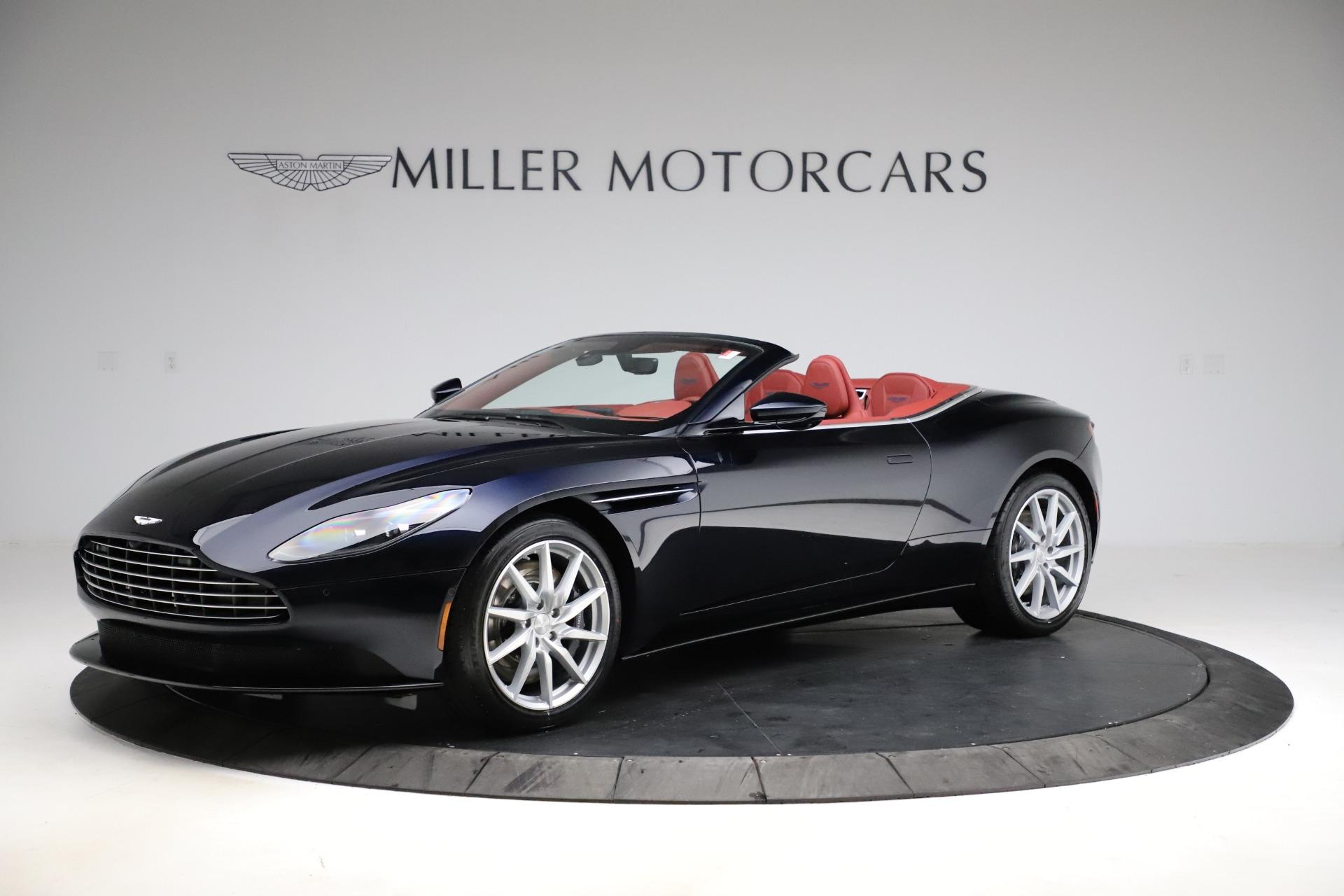 New 2021 Aston Martin DB11 Volante Convertible for sale $261,486 at Maserati of Greenwich in Greenwich CT 06830 1