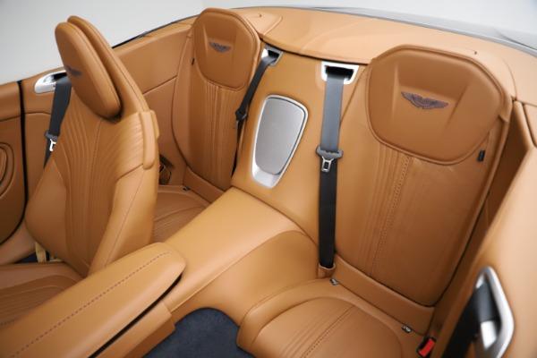 New 2021 Aston Martin DB11 Volante for sale $265,186 at Maserati of Greenwich in Greenwich CT 06830 17