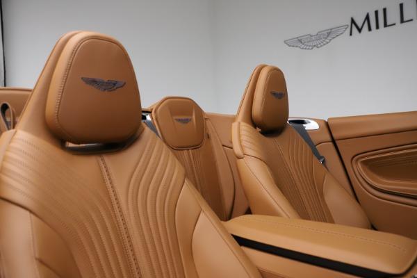 New 2021 Aston Martin DB11 Volante for sale $265,186 at Maserati of Greenwich in Greenwich CT 06830 19