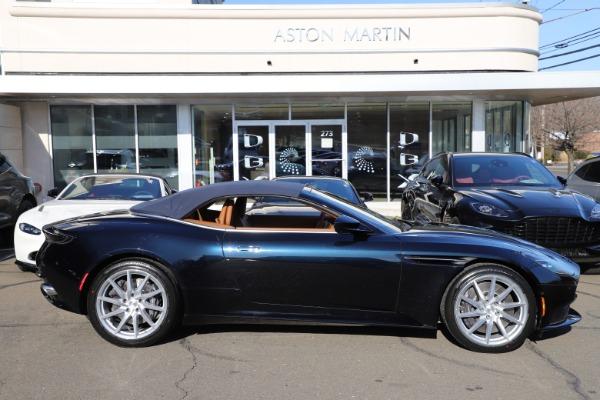 New 2021 Aston Martin DB11 Volante for sale $265,186 at Maserati of Greenwich in Greenwich CT 06830 27