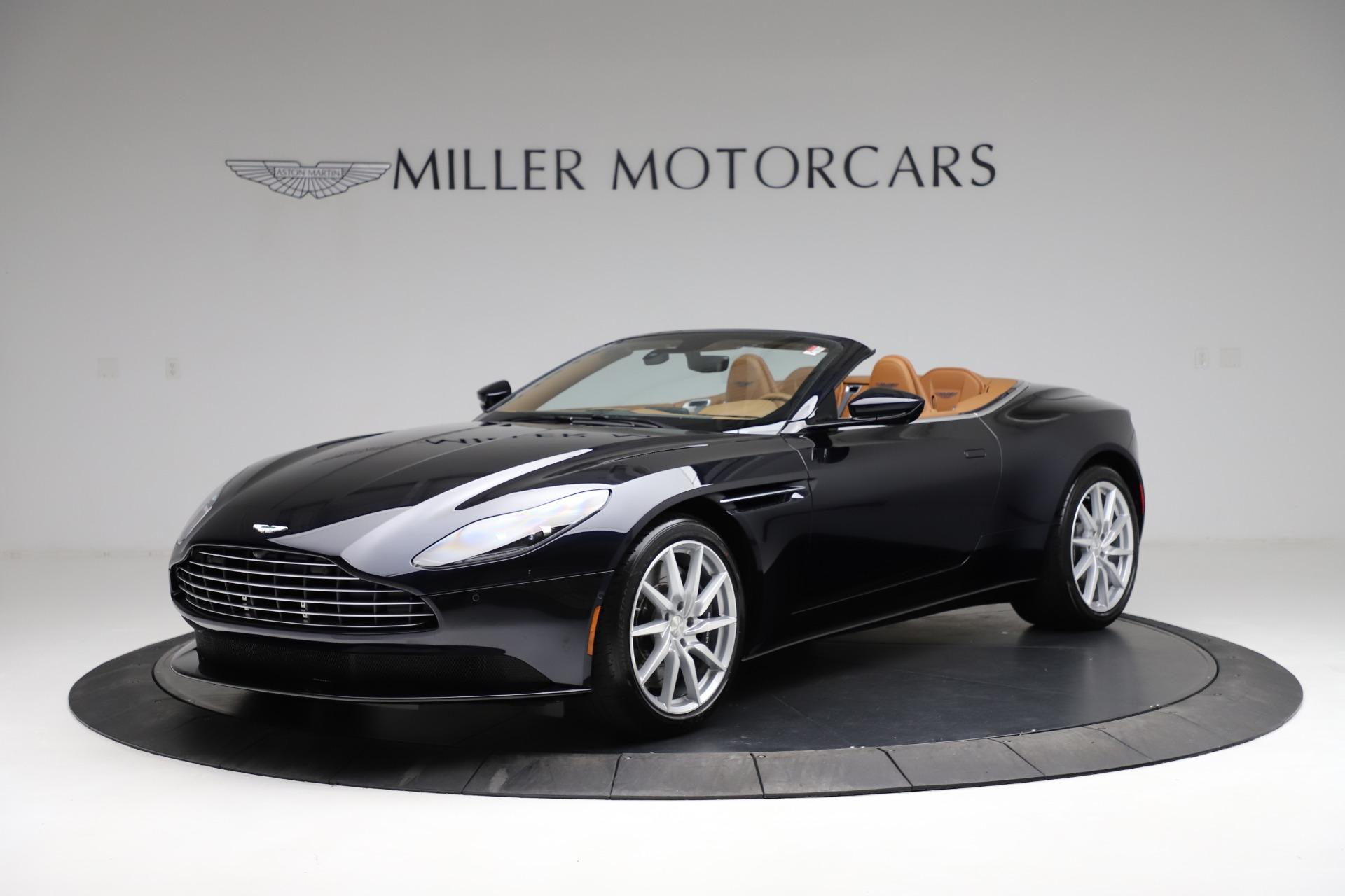 New 2021 Aston Martin DB11 Volante for sale $265,186 at Maserati of Greenwich in Greenwich CT 06830 1