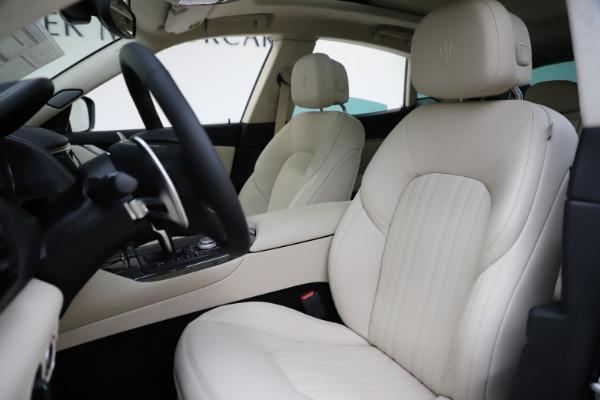 New 2021 Maserati Levante S Q4 GranLusso for sale $106,235 at Maserati of Greenwich in Greenwich CT 06830 14