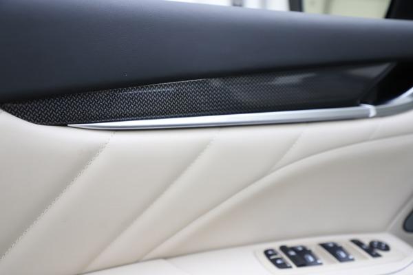 New 2021 Maserati Levante S Q4 GranLusso for sale $106,235 at Maserati of Greenwich in Greenwich CT 06830 19