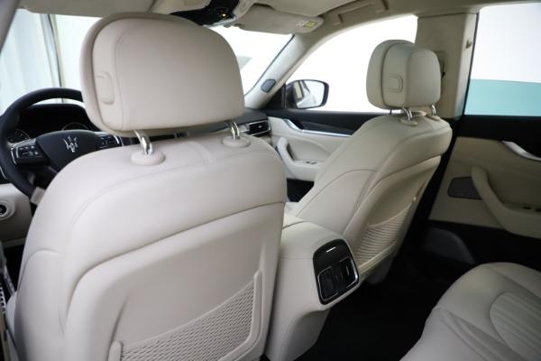 New 2021 Maserati Levante S Q4 GranLusso for sale $106,235 at Maserati of Greenwich in Greenwich CT 06830 22